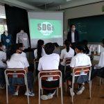 SDGs附属中での授業